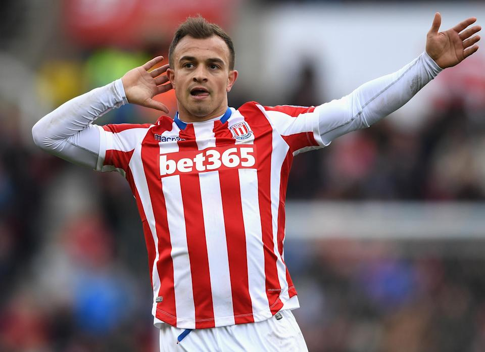 Xherdan Shaqiri is just one of many talented attackers at Stoke's disposal. Will the Potters rebound this season? (Getty)