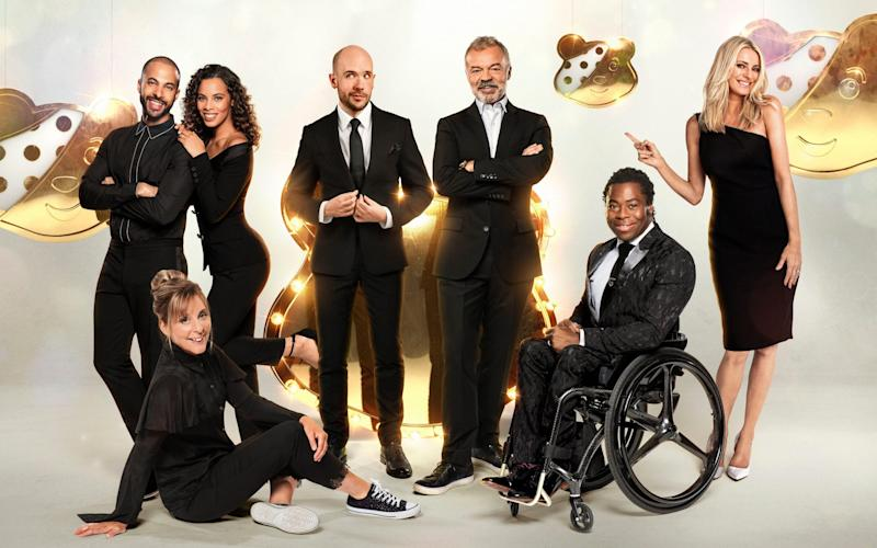 The hosts of 2019's Children in Need telethon - WARNING: Use of this copyright image is subject to the terms of use of BBC Pictures' Digital Picture