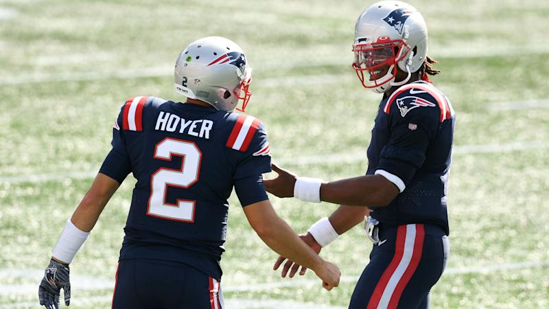 Report: Patriots QB Brian Hoyer expected to start in Cam Newton's place