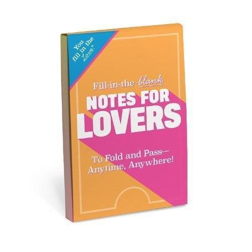 <p>Surprise your special someone with these foldable love notes.</p> <p><span>Fill In The Love Notes For Lovers</span> ($8)</p>