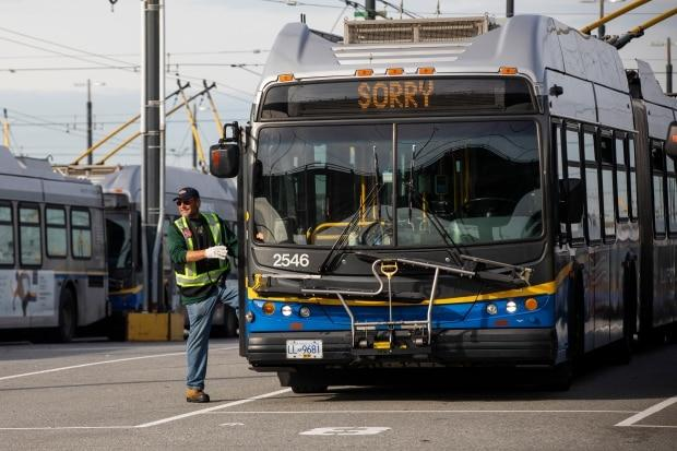 Metro Vancouver transit talks collapse, job action by bus drivers due Friday