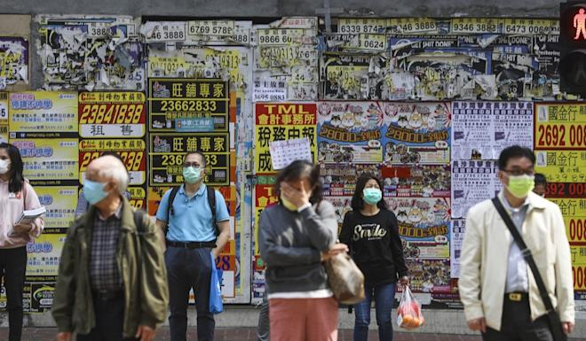 Hongkongers are reducing social contact to cut down infection risks. Photo: Sam Tsang