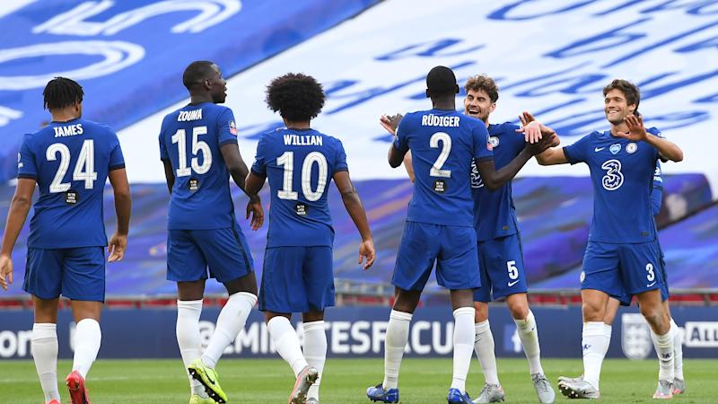 Lampard hails 'leaders' in Chelsea squad after overcoming Man Utd