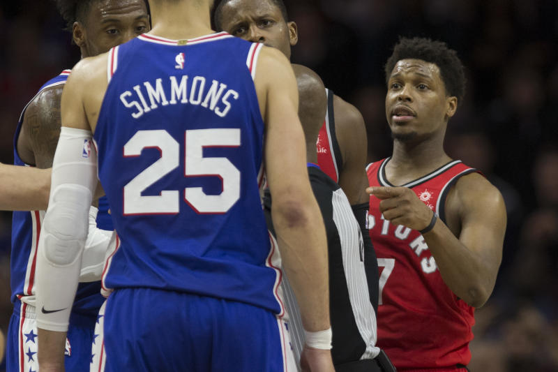 Rumours about Kyle Lowry and Ben Simmons postgame scrap 05dd049bc