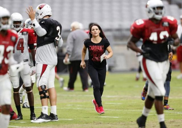 First female NFL coach sees video-game appearance as another sign of progress