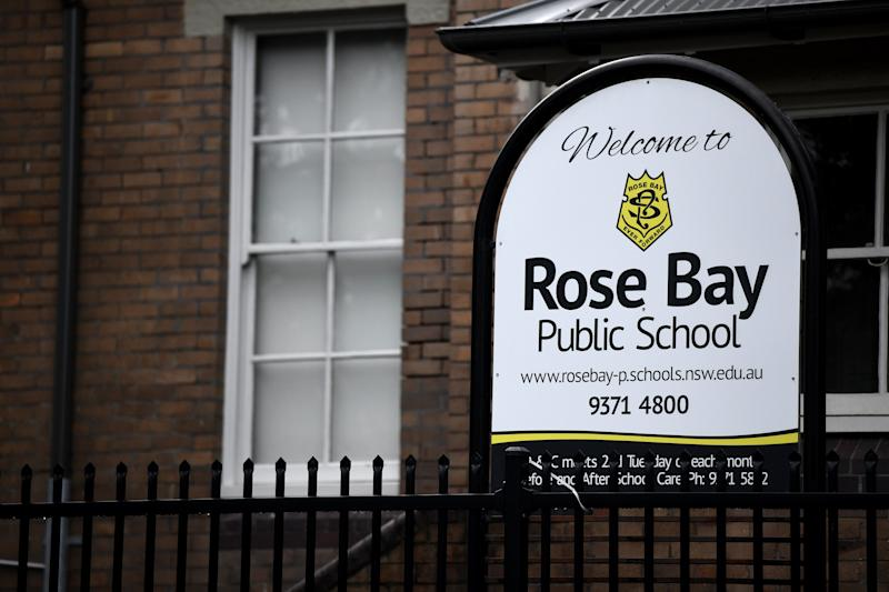 A teacher from Rose Bay Public School in Sydney's east has tested positive for COVID-19. Source: AAP