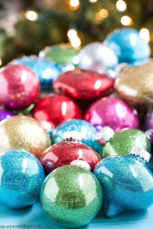 """<p>According to this blogger, glittering the<em> inside</em> of the ornament with the proper adhesive will save mega muss and fuss. We like the sound of that!</p><p><strong>Get the tutorial at <a href=""""https://apumpkinandaprincess.com/diy-glitter-ornaments-best-glue-use/"""" rel=""""nofollow noopener"""" target=""""_blank"""" data-ylk=""""slk:A Pumpkin and a Princess"""" class=""""link rapid-noclick-resp"""">A Pumpkin and a Princess</a>. </strong></p><p><strong><a class=""""link rapid-noclick-resp"""" href=""""https://www.amazon.com/Beacon-Adhesives-Glitter-Adhesive-2-Ounce/dp/B003614NNU/ref=as_li_ss_tl?tag=syn-yahoo-20&ascsubtag=%5Bartid%7C10050.g.28831556%5Bsrc%7Cyahoo-us"""" rel=""""nofollow noopener"""" target=""""_blank"""" data-ylk=""""slk:SHOP BEACON GLITTER-IT"""">SHOP BEACON GLITTER-IT</a><br></strong></p>"""