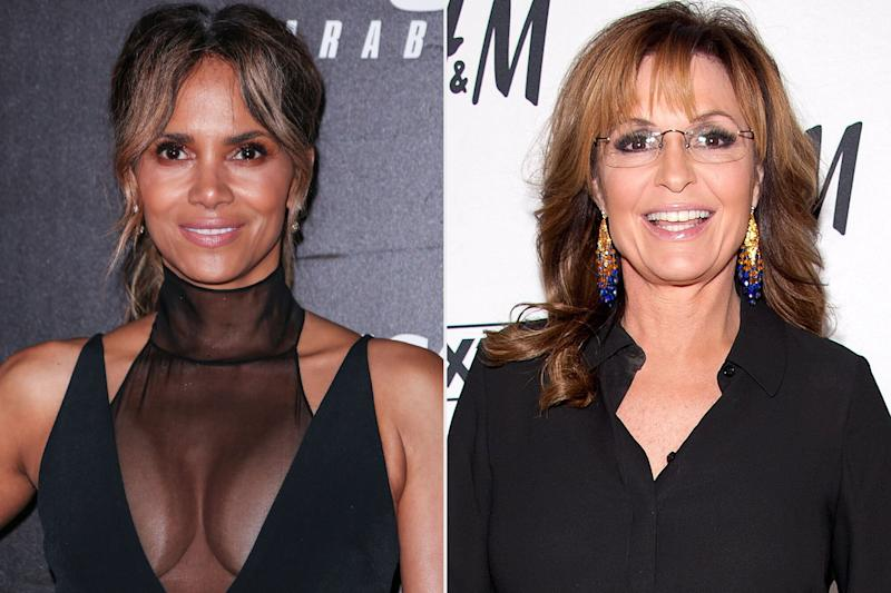 Halle Berry Jokes About Distant Relation to Sarah Palin: 'She Ain't Invited to the Cookout'
