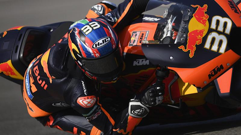 South Africa's Brad Binder claims shock win at Czech MotoGP