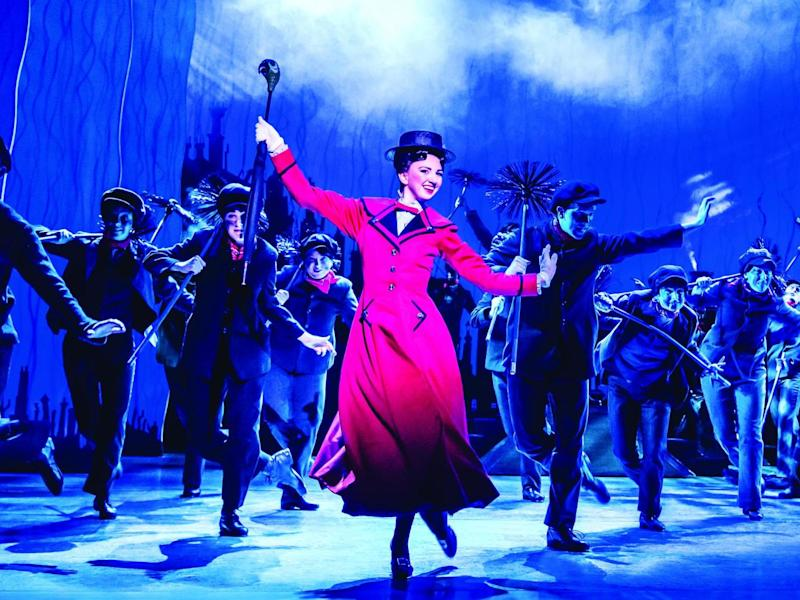 An appeal that is imperishable: Zizi Strallen in the 2015 production of Mary Poppins: Johan Persson