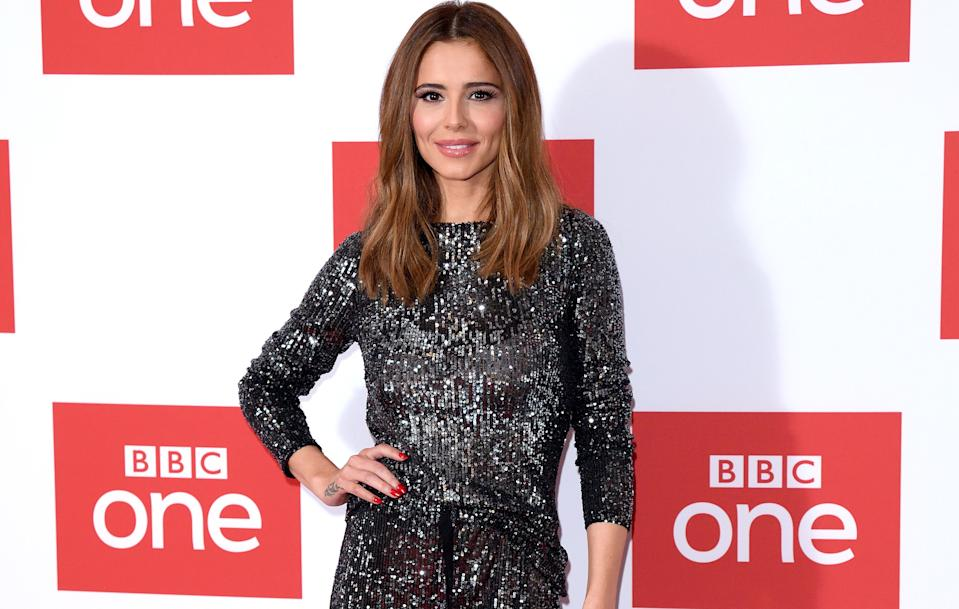 Cheryl has been attacked by Fathers4Justice (Credit: Getty Images)