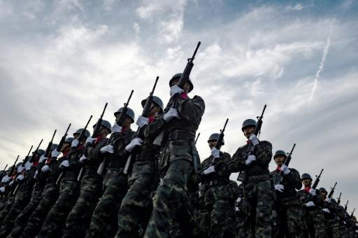 Thai army officers charged over online arms trading