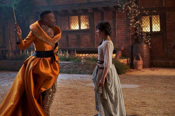 """PHOTO: Billy Porter appears as the Fab G in Amazon's 2021 adaption of """"Cinderella.' (Amazon Studios)"""