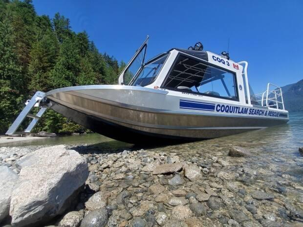 Coquitlam Search and Rescue has had to invest in a new boat to respond to an increase in water-related calls.  (Coquitlam Search and Rescue/Facebook - image credit)