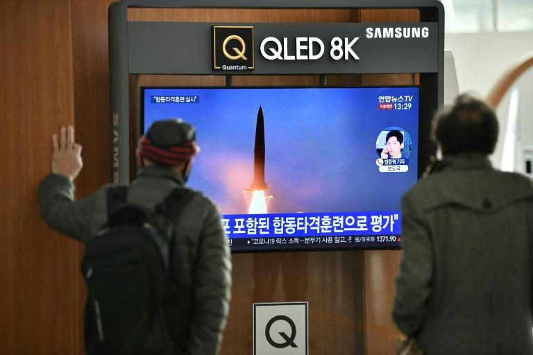 US warns NKorea still pressing ballistic missile development