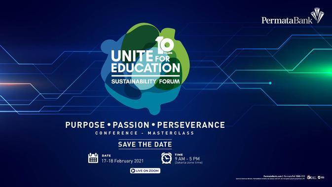 Unite For Education (UFE) Sustainability Forum dari PermataBank. Sumber foto: Document/PermataBank.
