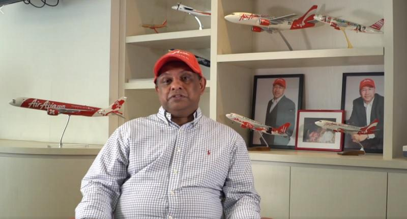 AirAsia chief apologizes for video in support of Malaysia's Najib