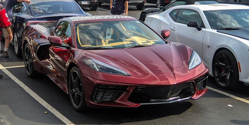 We Spied The 2020 Chevy Corvette C8 Convertible Revealing New Details