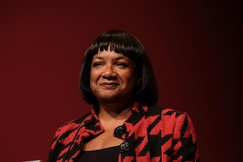 Shadow home secretary Diane Abbott apologised 'sincerely' for drinking a mojito on public transport in April (Ian Forsyth/Getty Images)