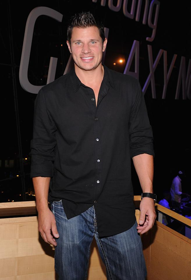 NEW YORK, NY - AUGUST 15:  Nick Lachey attends Samsung Galaxy Note 10.1 Launch Event at Jazz at Lincoln Center on August 15, 2012 in New York City.  (Photo by Jamie McCarthy/WireImage)