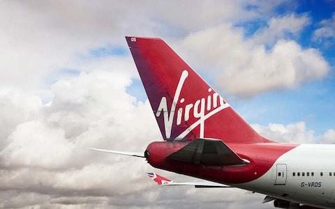 Virgin Atlantic saw its cost per kilometre fall - Credit: Getty