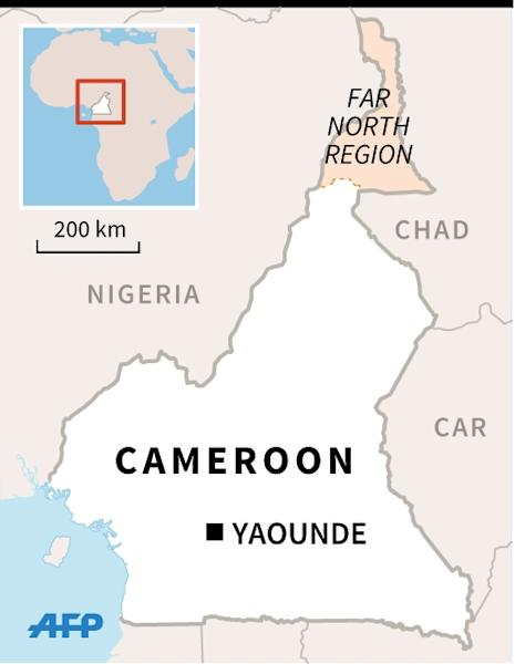 The Cameroon army claimed Wednesday to have dealt a major blow to Nigeria's Boko Haram Islamists, killing around 100 fighters and freeing 900 hostages in a three-day operation last week. (AFP Photo/)
