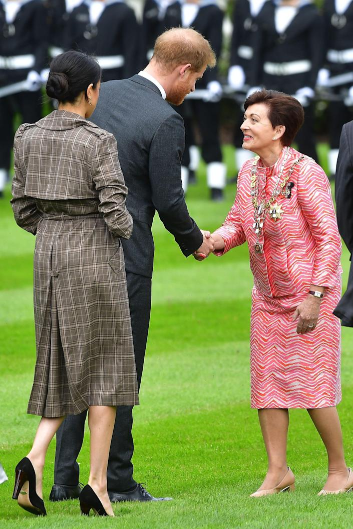 Meghan Harry and Patsy Reddy