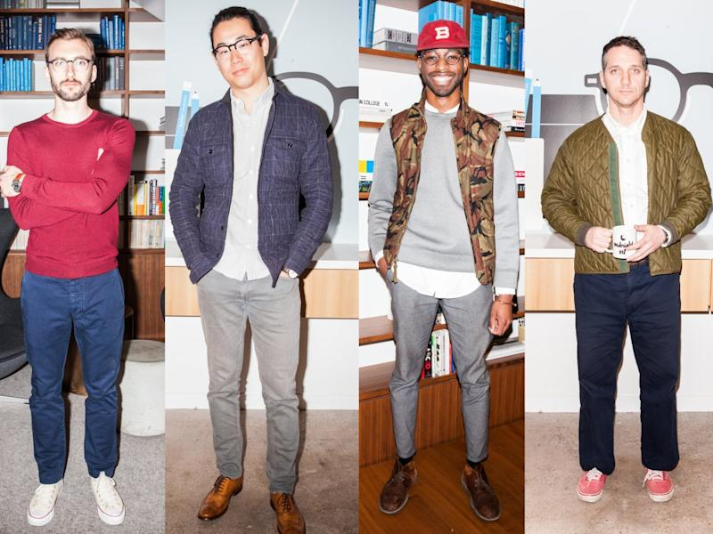 e9d29e99748 Here s what the stylish guys of Warby Parker — the  1.2 billion ...