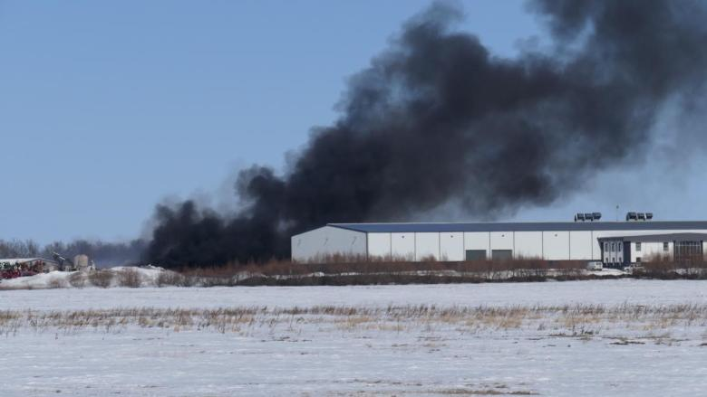 Fire at Heartland Colony destroys plastics plant