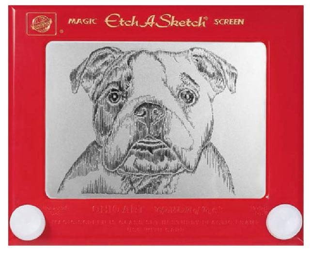 "<b>Boxer</b> <br> <p>Looking for the perfect gift for the dog lover in your life? Etch-A-Sketch expert Pauline Graziano produces eye-catching artwork like this on commission.</p> <br> (Credit: <a href=""http://www.paulinegraziano.com"">Pauline Graziano</a>)"