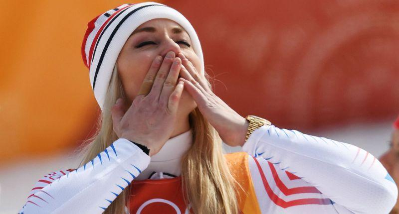 Lindsey Vonn may have missed out on gold and silver, but she fulfilled so much with her downhill run Wednesday. (Yahoo)
