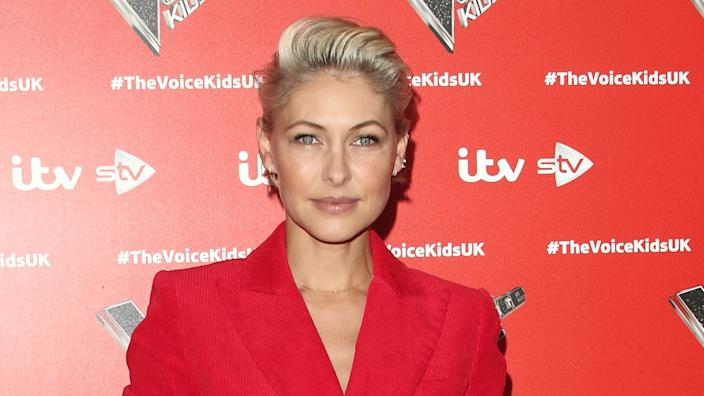 Emma Willis seen during the Voice Kids UK 2019 Series 3 launch photocall (Keith Mayhew / SOPA Images/Sipa USA)