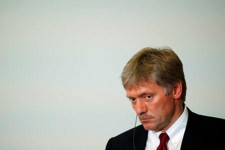 Kremlin spokesman Peskov attends news conference of Russian President Putin and Laos' Prime Minister Sisoulith following Russia-ASEAN summit in Sochi