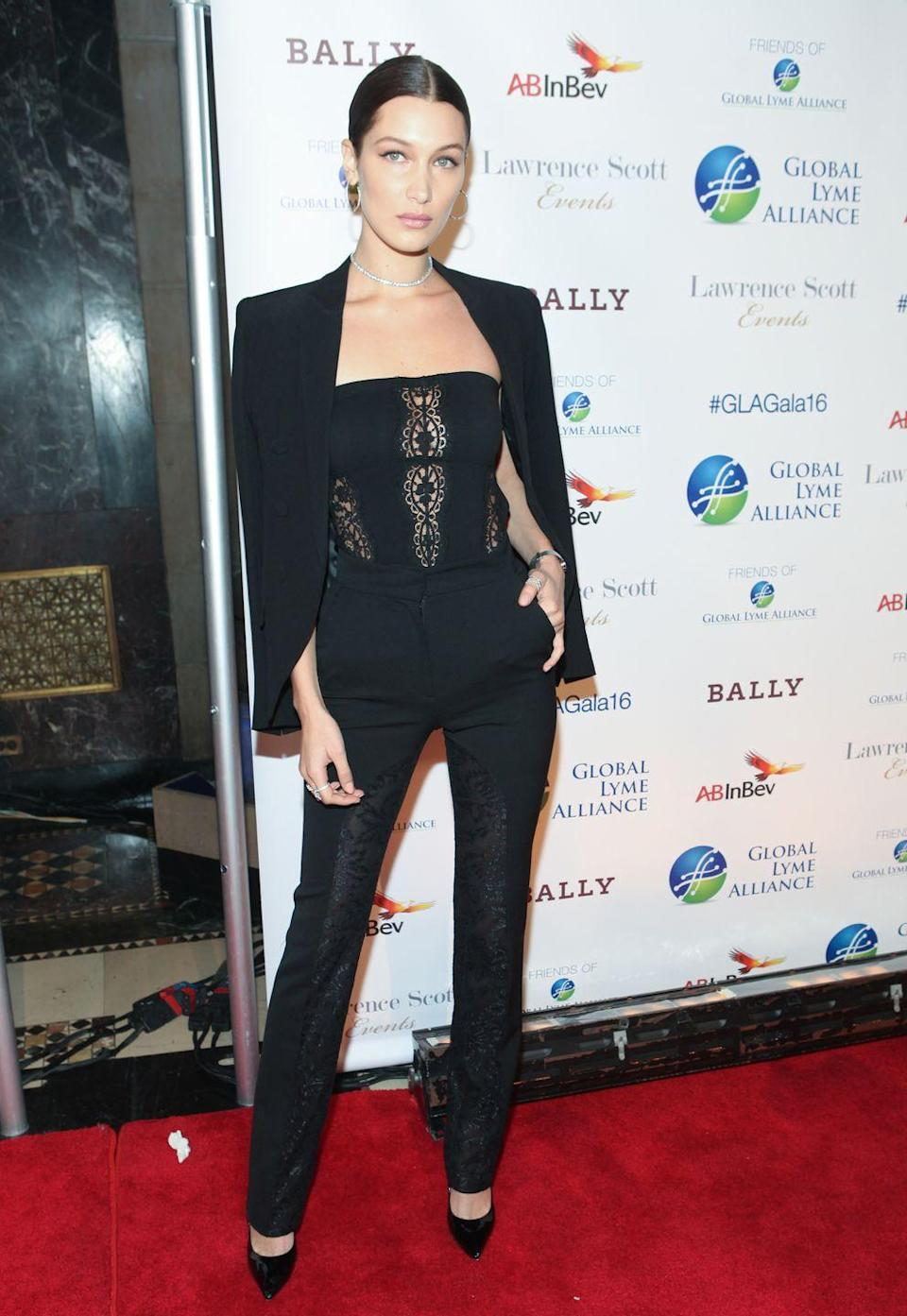 <p>Attending the Global Lyme Alliance's 2016 United For A Lyme-Free World Gala, October 2016</p>