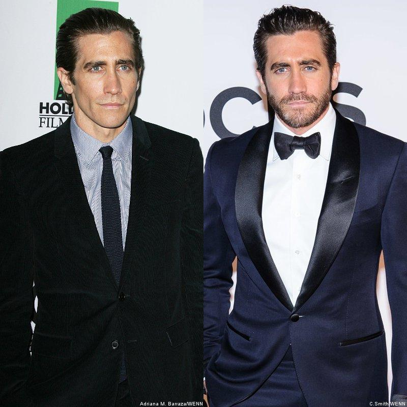 Jake Gyllenhaal: antes e depois (Getty Images)