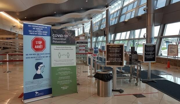 Workers flying home to Newfoundland and Labrador can book a COVID-19 swab the moment they land.