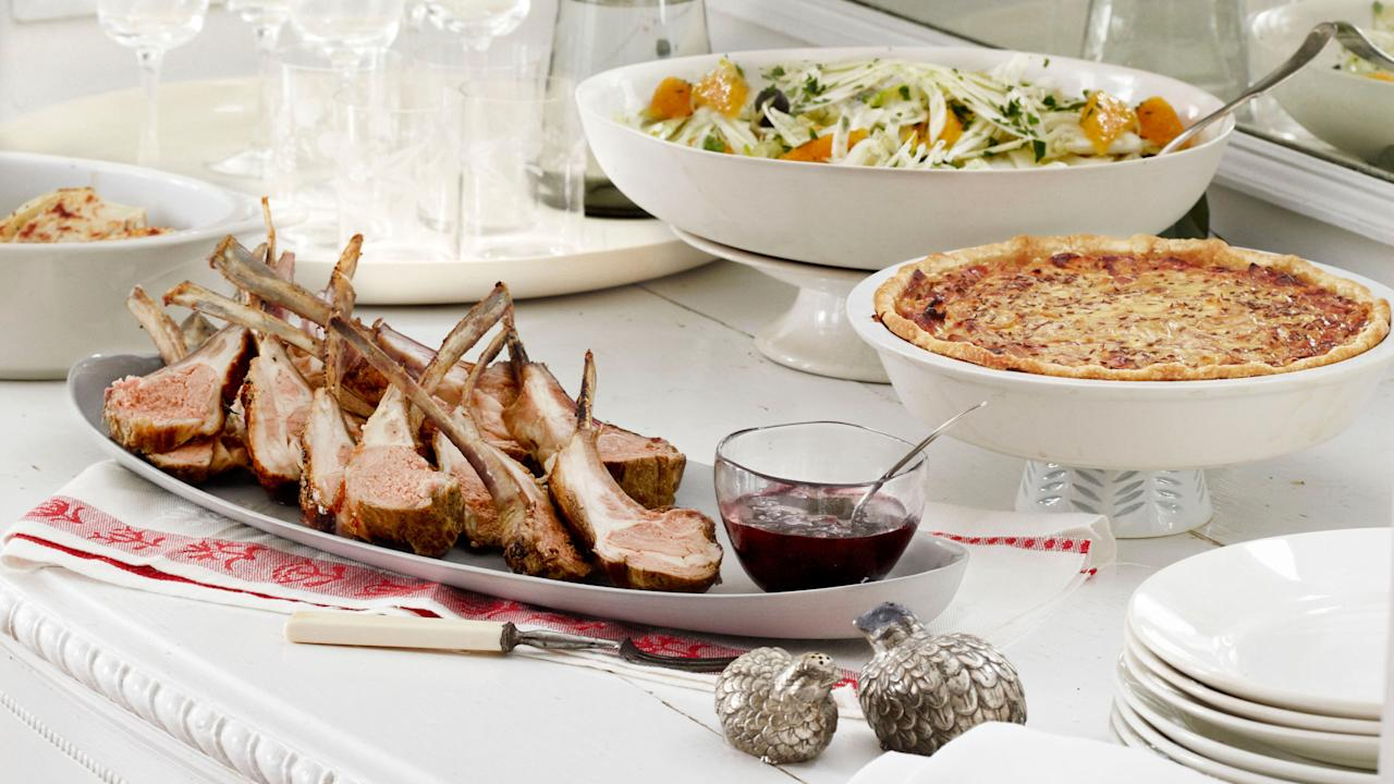 6 completely delicious christmas dinner menus for Ideas for christmas dinner