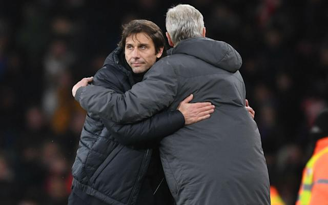Antonio Conte and Arsene Wenger don't seem long for their clubs. Neither do most Premier League managers these days. (Getty)