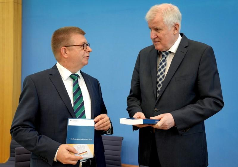 'Constitution Protection Report 2020' news conference in Berlin