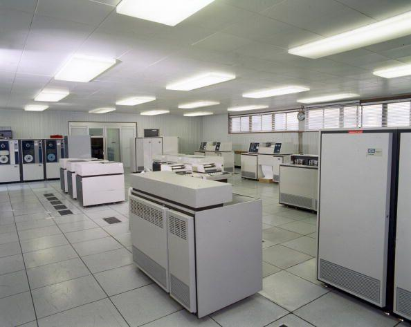 <p>Otherwise known as the mainframe, offices had to devote a large amount of space to house their computer software and equipment. </p>