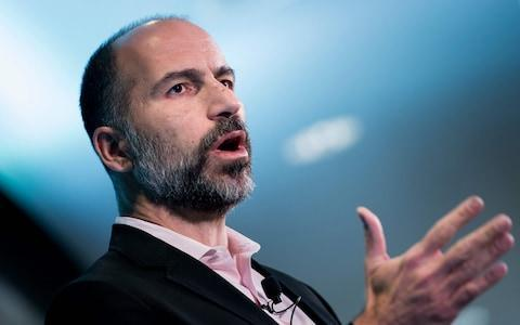 <span>Dara Khosrowshahi's company, who is chief executive of Uber, wants to use the AI to prevent the passenger from joining a carpool and even choose to deny the passenger a ride all together.</span> <span>Credit: AFP/AFP </span>