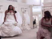 """<p>For some brides, the biggest surprise of being on the show is <a href=""""https://www.417mag.com/417-bride-issues/summer-fall-2013/behind-the-scenes-say-yes-to-the-dress/"""" rel=""""nofollow noopener"""" target=""""_blank"""" data-ylk=""""slk:how much is edited out"""" class=""""link rapid-noclick-resp"""">how much is edited out</a>. After all, up to 10 hours of footage turns into a 30 minute episode that focuses on <em>two</em> brides. At the end of the day, each bride only gets about 12 minutes of screen time. </p>"""
