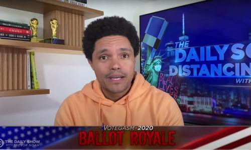 Trevor Noah: 'Donald Trump is the blacklight on American democracy'