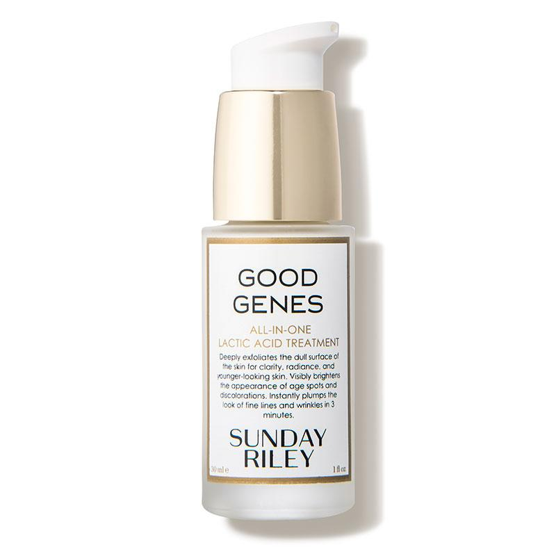 """<p><strong>Sunday Riley</strong></p><p>dermstore.com</p><p><strong>$85.00</strong></p><p><a href=""""https://go.redirectingat.com?id=74968X1596630&url=https%3A%2F%2Fwww.dermstore.com%2Fproduct_GOOD%2BGENES%2BAllInOne%2BLactic%2BAcid%2BTreatment_40133.htm&sref=https%3A%2F%2Fwww.elle.com%2Fbeauty%2Fg31245487%2Fdermstore-sale-refresh%2F"""" target=""""_blank"""">Shop Now</a></p><p>""""Say hello to the cult-favorite product that everyone is obsessed with for a good reason. 1,500 five-star <a href=""""https://go.redirectingat.com/?id=74968X1525074&xs=1&url=https%3A%2F%2Fwww.sephora.com%2Fproduct%2Fgood-genes-all-in-one-lactic-acid-treatment-P309308&sref=https%3A%2F%2Fwww.elle.com%2Fbeauty%2Fmakeup-skin-care%2Fa22714413%2Fdermstore-anniversary-sale-2018%2F%3Fpre%3Dbeauty%252Fmakeup-skin-care%252F%26prefix%3Da%26id%3D22714413%26del%3D%26variantId%3D%26post%3D%252Fdermstore-anniversary-sale-2018"""" target=""""_blank"""">reviews</a> don't lie. This baby right here transformed my skin. The all-in-one AHA treatment has helped rid my skin of hyperpigmentation and acne scars after a few months of use. I highly recommend this product to Sunday Riley enthusiasts and people new to the brand.""""— CH</p>"""