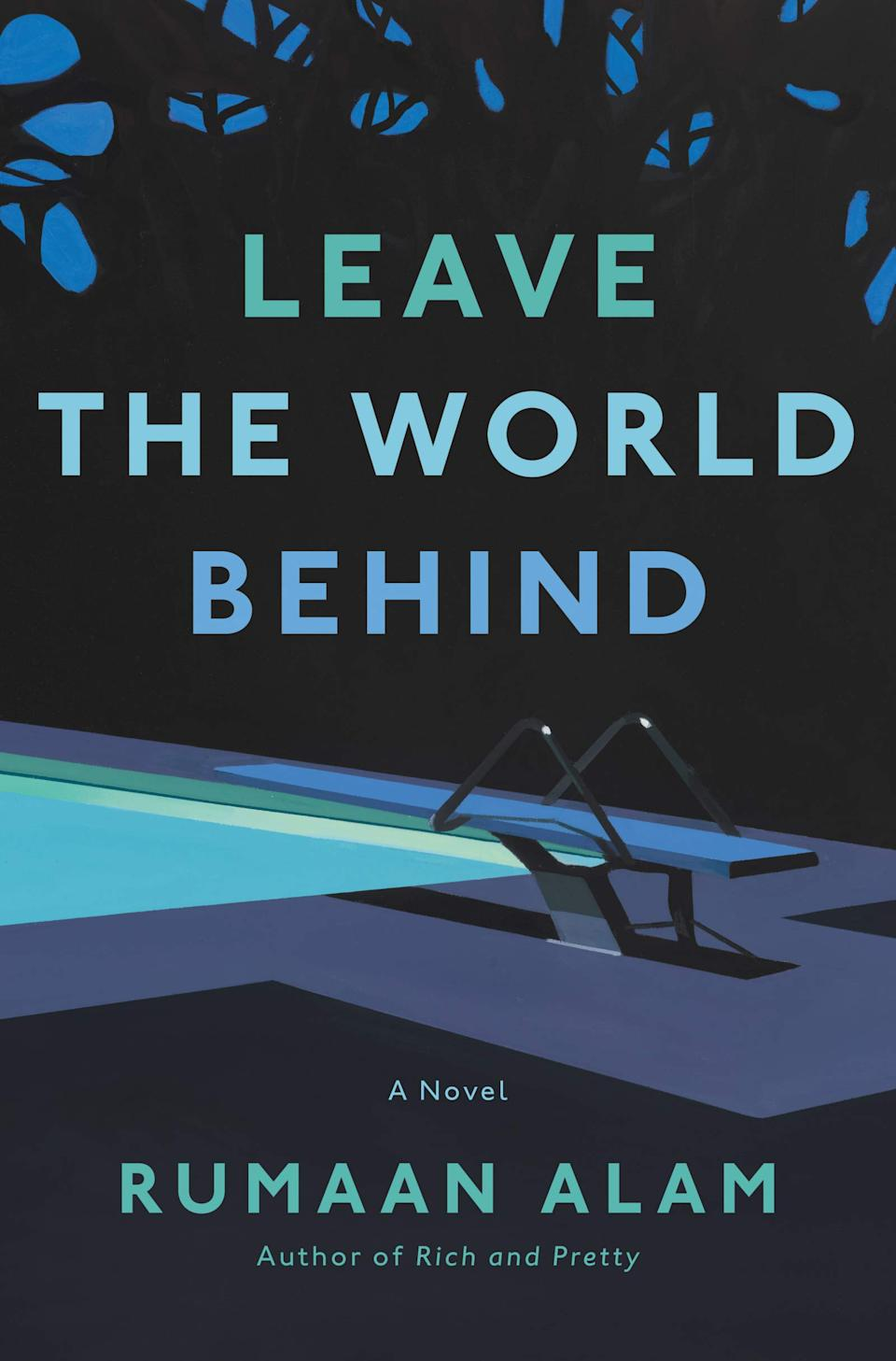 The cover for Leave The World Behind (Ecco Press)