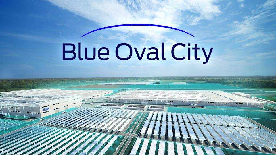 An all-new $5.6 billion mega campus in Stanton, Tenn., called Blue Oval City, will create approximately 6,000 new jobs and reimagine how vehicles and batteries are manufactured. Concept designs.  Final design subject to change. [Credit: Ford]