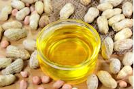 <p>The characteristics of peanut oil are similar to vegetable oil, making it a great substitute. It's particularly good for frying, thanks to its high smoking point. Contrary to its name, peanut oil does not taste like its namesake and is prized for its neutral flavor. Peanut oil is, however, far more expensive, as it's produced in smaller quantities and can be harder to find. </p>