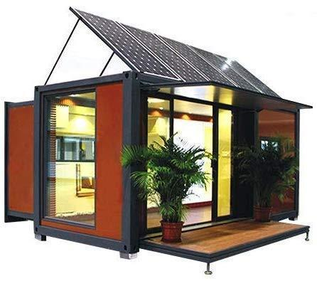 An Expandable Container House with Solar Energy from Weizhengheng