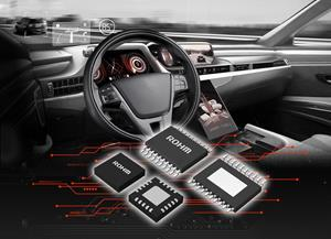 ROHM introduces new BD9P series automotive primary DC/DC converters
