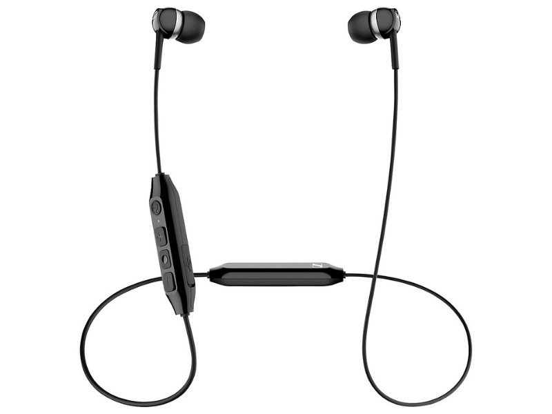 Sennheiser 508382—CX350BT In-Ear Canal Wireless Headphones with Bluetooth. (Photo: Walmart)